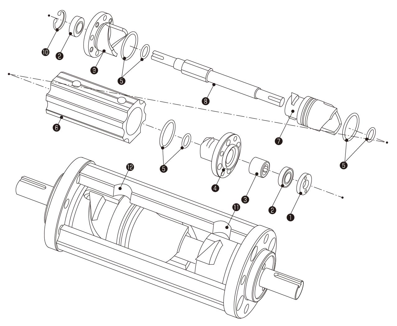 ミニデックス構造図